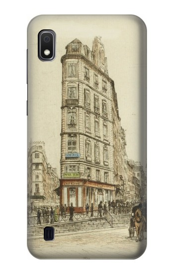Printed Boulevards of Paris Samsung Galaxy A10 Case
