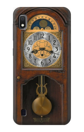 Printed Grandfather Clock Antique Wall Clock Samsung Galaxy A10 Case