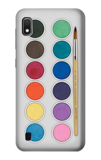 Printed Mixing Color Plate Samsung Galaxy A10 Case