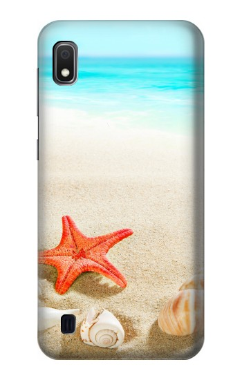 Printed Sea Shells Starfish Beach Samsung Galaxy A10 Case