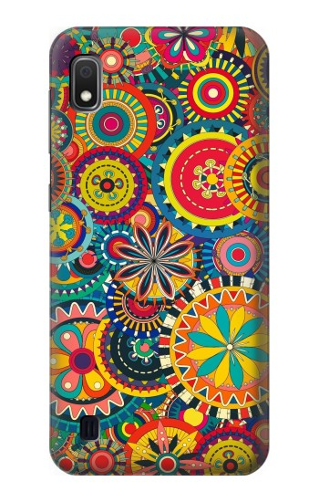 Printed Colorful Pattern Samsung Galaxy A10 Case