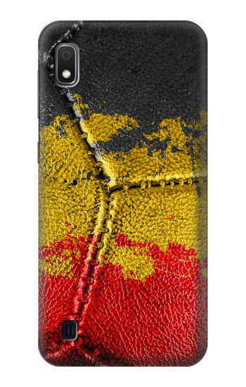 Printed Belgium Flag Vintage Football 2018 Samsung Galaxy A10 Case