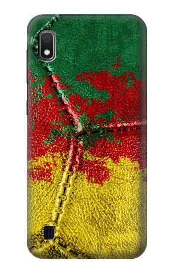 Printed Senegal Flag Vintage Football 2018 Samsung Galaxy A10 Case