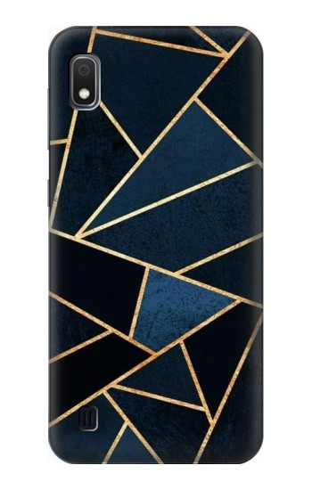 Printed Navy Blue Graphic Art Samsung Galaxy A10 Case