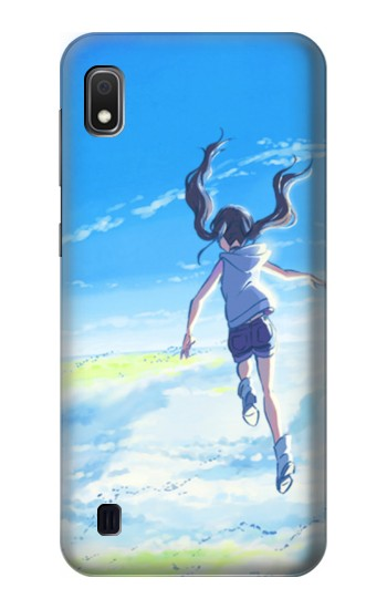 Printed Weathering With You Amano Hina Samsung Galaxy A10 Case