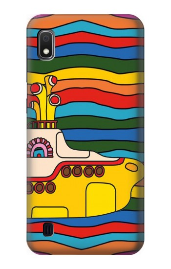 Printed Hippie Yellow Submarine Samsung Galaxy A10 Case