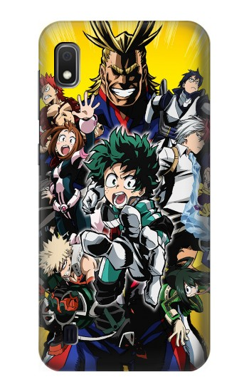 Printed My Hero Academia Samsung Galaxy A10 Case