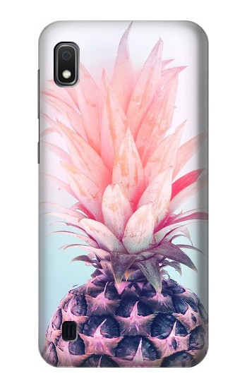 Printed Pink Pineapple Samsung Galaxy A10 Case