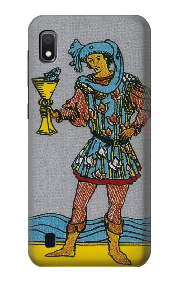 Printed Tarot Card Page of Cups Samsung Galaxy A10 Case