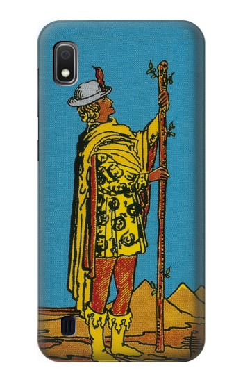 Printed Tarot Card Page of Wands Samsung Galaxy A10 Case