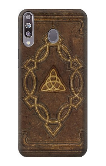 Printed Spell Book Cover Samsung Galaxy A30 Case