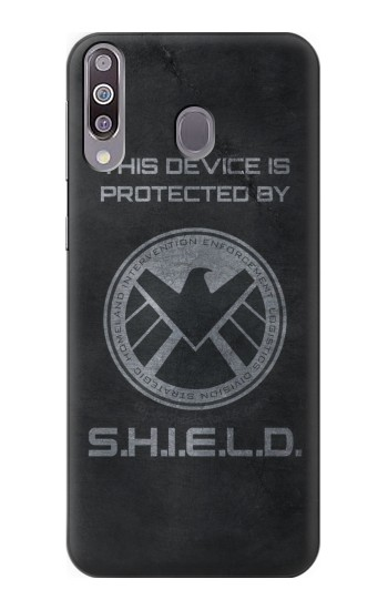 Printed This Device is Protected by Shield Samsung Galaxy A30 Case