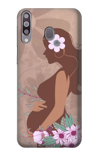 Printed Pregnant Mommy Baby Samsung Galaxy A30 Case