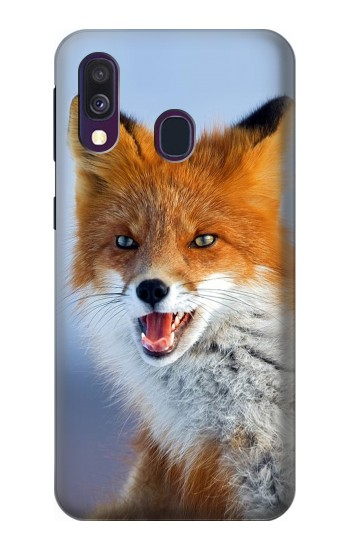 Printed Fox Samsung Galaxy A40 Case
