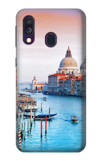 Printed Beauty of Venice Italy Samsung Galaxy A40 Case