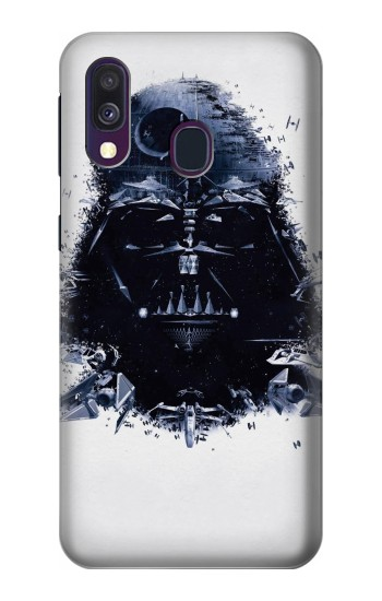 Printed Darth Vader Samsung Galaxy A40 Case