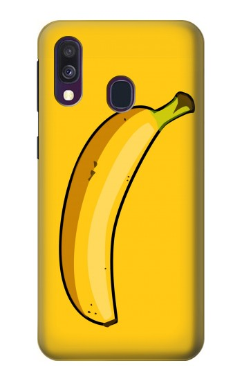 Printed Banana Samsung Galaxy A40 Case