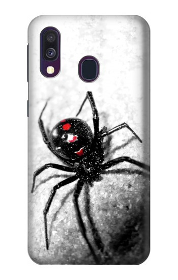 Printed Black Widow Spider Samsung Galaxy A40 Case