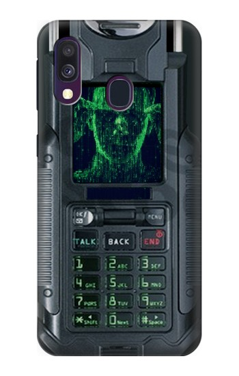 Printed The Matrix Mobile Phone Graphic Printed Samsung Galaxy A40 Case
