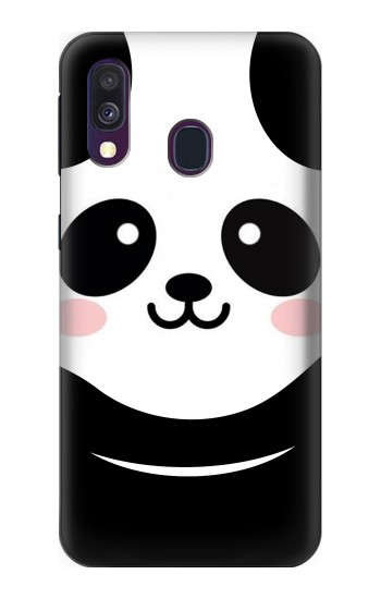 Printed Cute Panda Cartoon Samsung Galaxy A40 Case