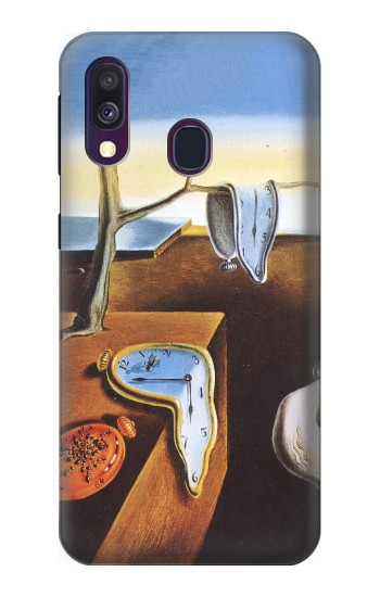 Printed Salvador Dali The Persistence of Memory Samsung Galaxy A40 Case