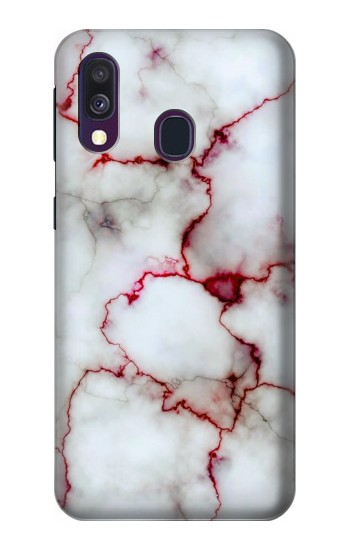 Printed Bloody Marble Samsung Galaxy A40 Case