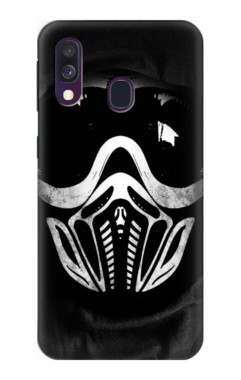 Printed Paintball Mask Samsung Galaxy A40 Case