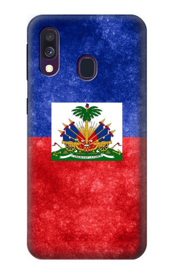 Printed Haiti Flag Samsung Galaxy A40 Case