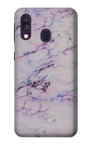 Printed Seamless Pink Marble Samsung Galaxy A40 Case