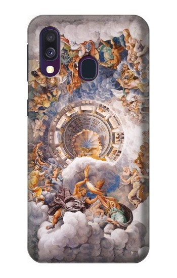 Printed The Assembly of Gods Samsung Galaxy A40 Case