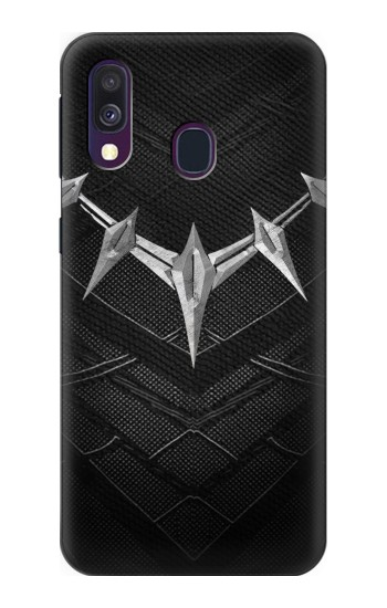 Printed Black Panther Inspired Costume Necklace Samsung Galaxy A40 Case