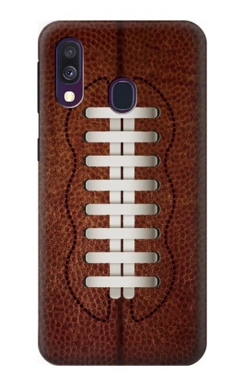 Printed Leather Vintage Football Samsung Galaxy A40 Case