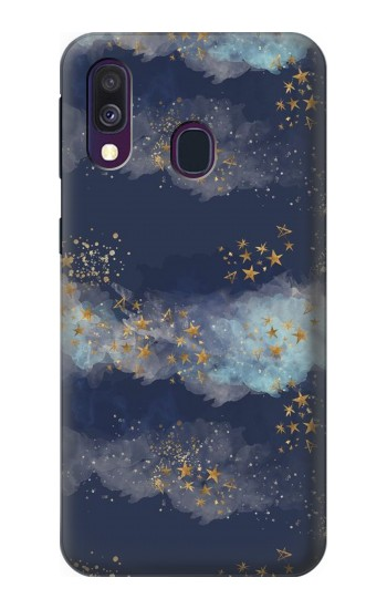 Printed Gold Star Sky Samsung Galaxy A40 Case