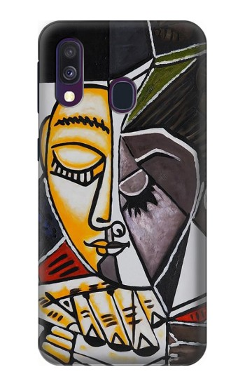 Printed Pablo Picasso Painting Samsung Galaxy A40 Case
