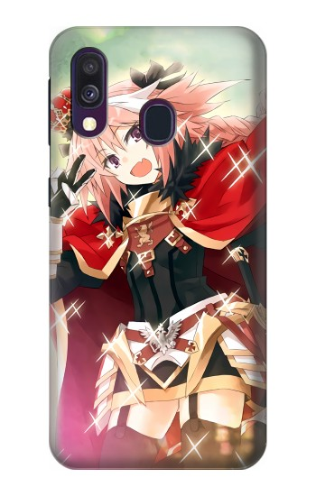 Printed Fate Apocrypha Astolfo Samsung Galaxy A40 Case