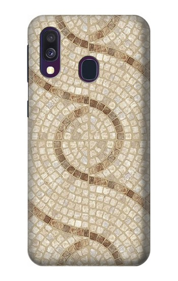 Printed Mosaic Tiles Samsung Galaxy A40 Case