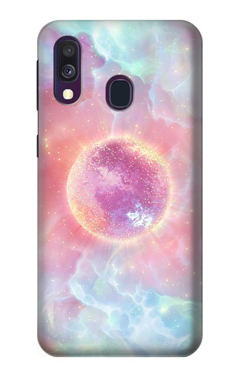 Printed Pink Galaxy Samsung Galaxy A40 Case