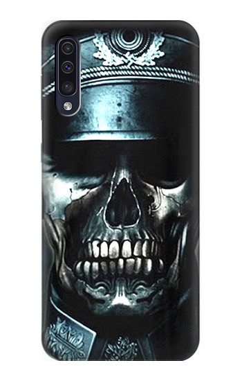 Printed Skull Soldier Zombie Samsung Galaxy A50 Case