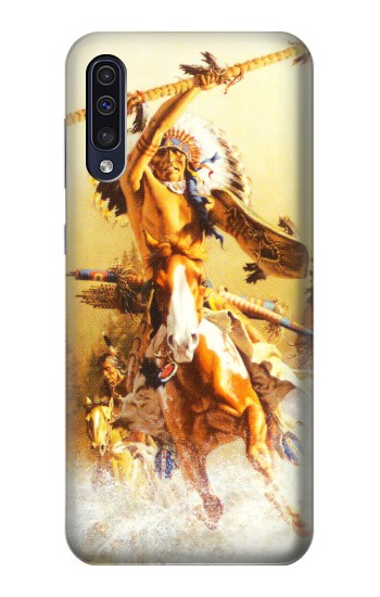 Printed Red Indian Warrior Samsung Galaxy A50 Case