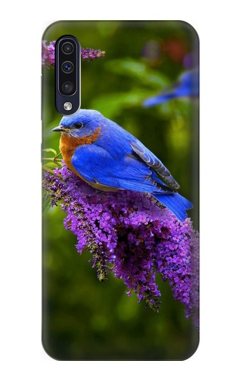 Printed Bluebird of Happiness Blue Bird Samsung Galaxy A50 Case
