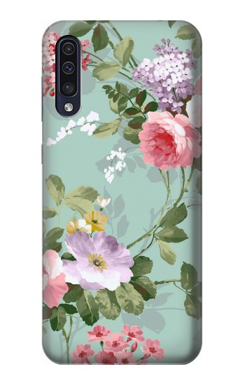 Printed Flower Floral Art Painting Samsung Galaxy A50 Case