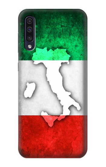 Printed Italy Flag Samsung Galaxy A50 Case