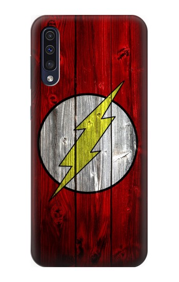 Printed Thunder Speed Flash Minimalist Samsung Galaxy A50 Case