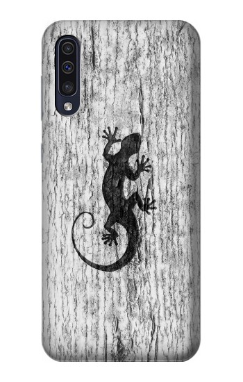 Printed Gecko Wood Graphics Printed Samsung Galaxy A50 Case