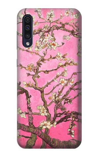 Printed Pink Blossoming Almond Tree Van Gogh Samsung Galaxy A50 Case