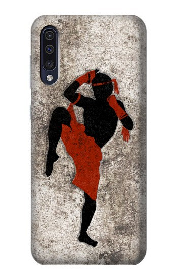 Printed Muay Thai Fight Boxing Samsung Galaxy A50 Case