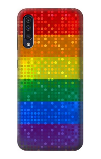Printed Rainbow Gay LGBT Pride Flag Samsung Galaxy A50 Case