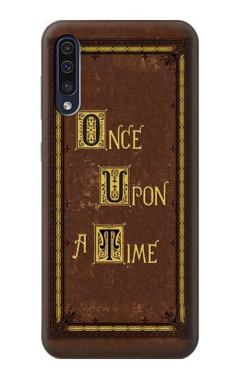 Printed Once Upon a Time Book Cover Samsung Galaxy A50 Case