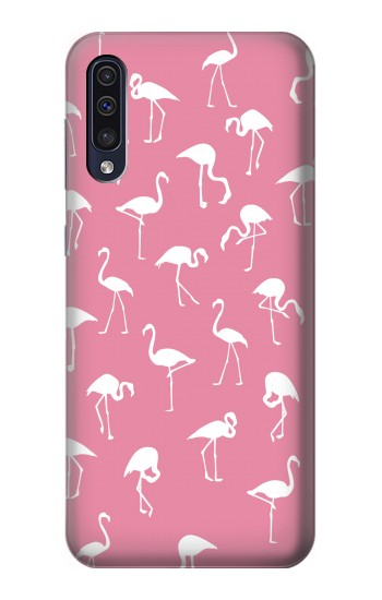 Printed Pink Flamingo Pattern Samsung Galaxy A50 Case