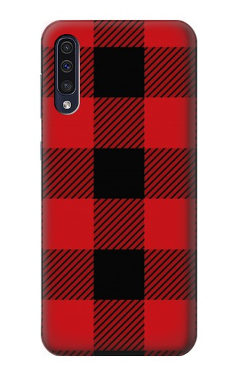 Printed Red Buffalo Check Pattern Samsung Galaxy A50 Case